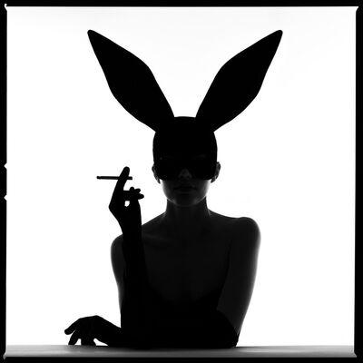 Tyler Shields, 'Bunny Silhouette III', 2021
