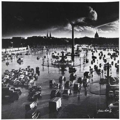 Gordon Parks, 'Place de la Concorde, Paris, France', 1950