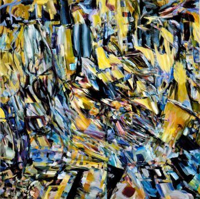 Naomie Kremer, 'Fractal Blue', 2001