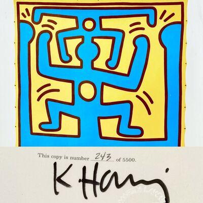 Keith Haring, 'Signed Keith Haring catalog (Keith Haring Martin Lawrence) ', 1987