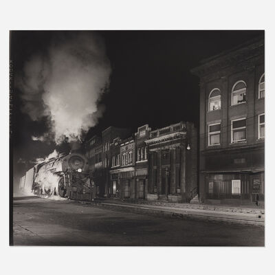 O. Winston Link, 'Main Line on Main Street, North Fork, West Virginia'