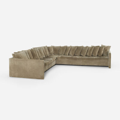 Joseph D'Urso, 'sectional sofa', 1980