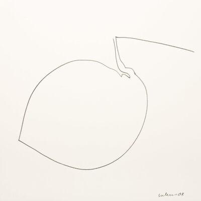 Dietrich Helms, 'Umriß 63', 2008