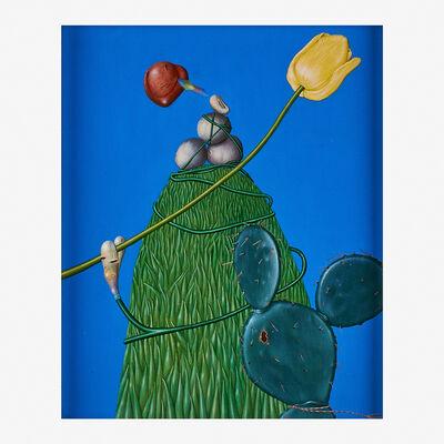 Kathy Calderwood, 'Heart Blooms', 1973