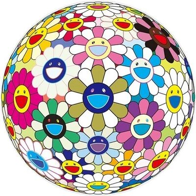 Takashi Murakami, 'Flower Ball (3D) Autumn 2004', 2013