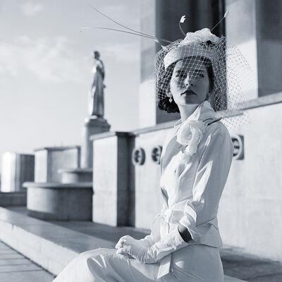 Rodney Smith, 'Mira Seated in Trocadero, Paris, France', 2007