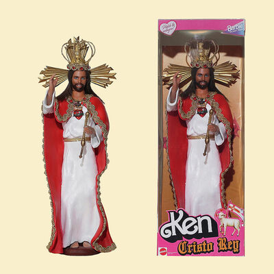 Pool y Marianela, 'Ken: Cristo Rey (Christ the King)', 2019