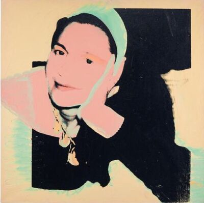Andy Warhol, 'Portrait of Marie-Louise Jeanneret', 1974