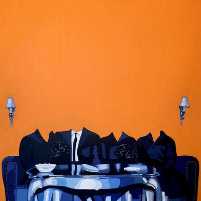 Christina Holdgaard, 'Amnesia 1 - surreal painting', 2020
