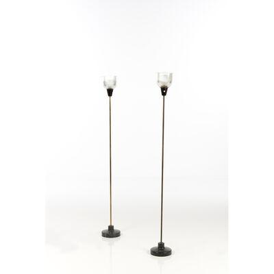 Ignazio Gardella, 'Model LTE6 / I; Pair of lamps', 1954