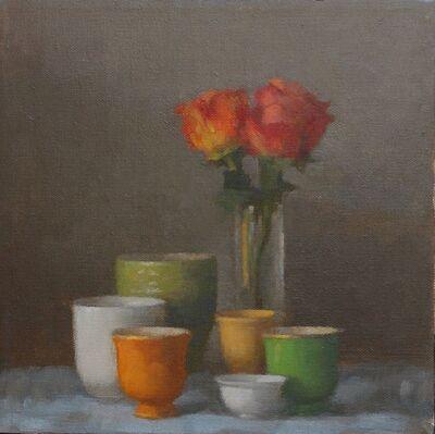 Colleen Cox, 'Orange Roses #1458', 2017