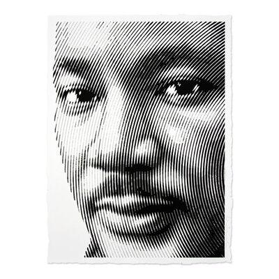Mr. Brainwash, 'KING (Portrait of Martin Luther King jr.)', 2017