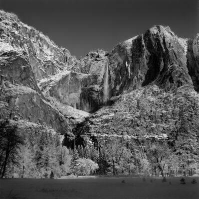 Richard Blair, 'Yosemite Falls, Winter', 1971