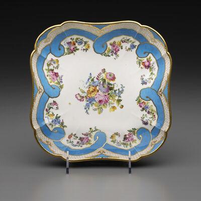 Sèvres Porcelain Manufactory, 'Two Square Fruit Dishes (Part of a Dessert Service)', 1782