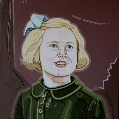 Julie Roberts, 'Girl with Blue Ribbon', 2010