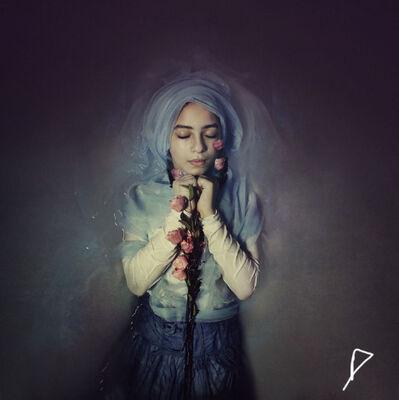 Lubna Abdel Aziz, 'Blue Dreams', 2014