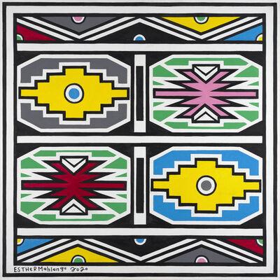 Esther Mahlangu, 'Ndebele Abstract ', 2020