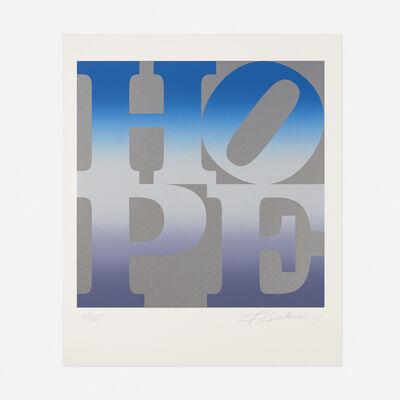 Robert Indiana, 'Winter from the 4 Seasons of Hope portfolio', 2012