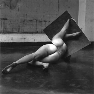 "Hans Breder, 'Untitled from the series ""Body/Sculptures""', 1969"