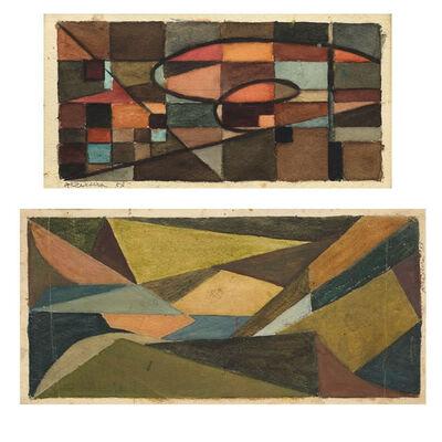 Alberto Teixeira, 'Composição Estudo', 1953