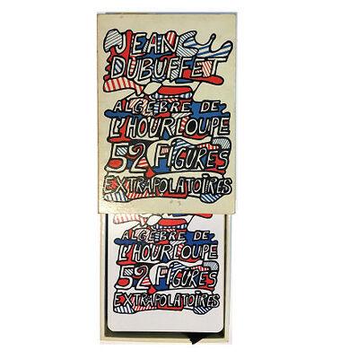 "Jean Dubuffet, '""Algebre de l'hourloupe"", Playing Cards', 1968"
