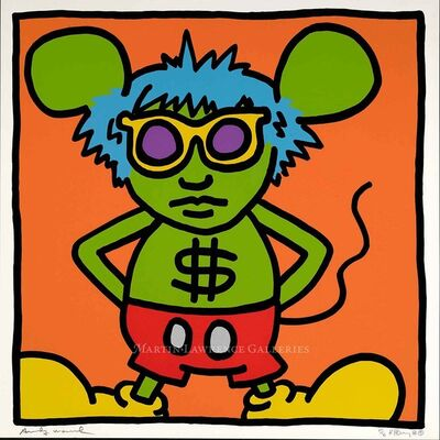 Keith Haring, 'Andy Mouse, 1986 (#4)', 1984