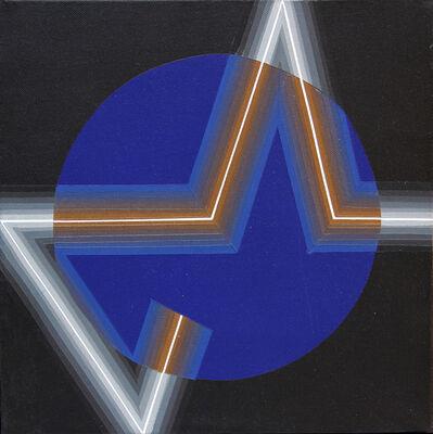 Horacio Garcia-Rossi, 'Couleur or, argent, lumiér', 2007