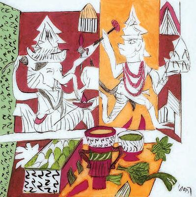 K. G. Subramanyan, 'Icon', 2014