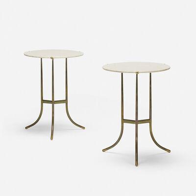 Cedric Hartman, Inc., 'occasional tables, pair', c. 1970