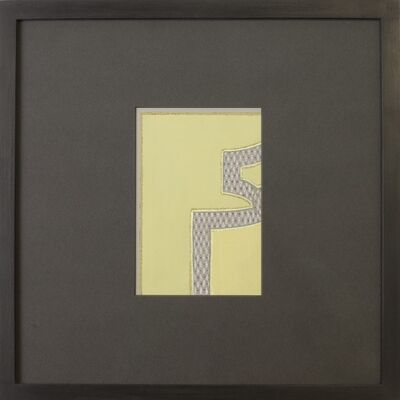 Paule Leleu, 'Framed Carpet Design', 1952-1956