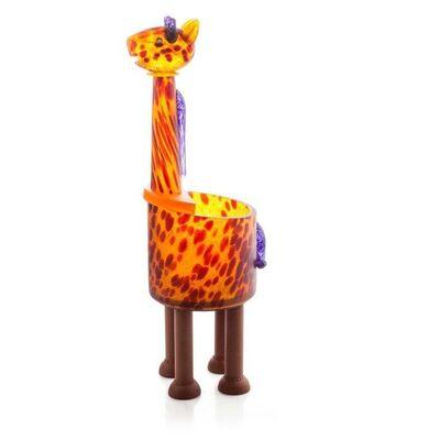 Borowski Glass, 'Giraffe Bowl: 24-03-86', 2018