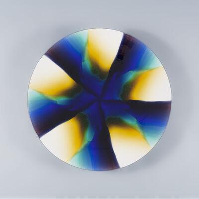 Tokuda Yasokichi III, 'Plate-Kashin II (Pistil)', 1997