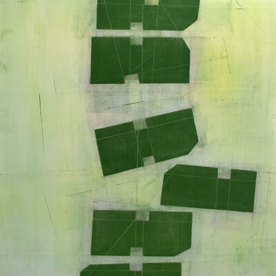 Steven Baris, 'Toppling D4', 2021