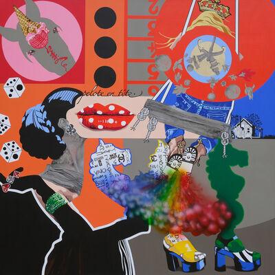 Myriam Baudin, 'Je ne joue plus', 2018
