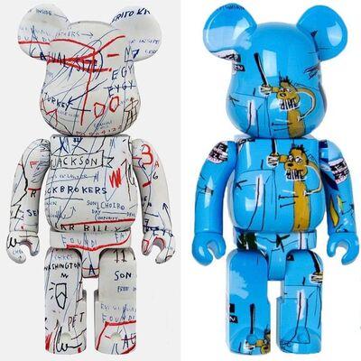 Jean-Michel Basquiat, 'Basquiat Bearbrick 400% Companions Set of 2 (Basquiat BE@RBRICK)', ca. 2018