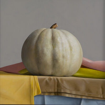 Janet Rickus, 'One Year Pumpkin'