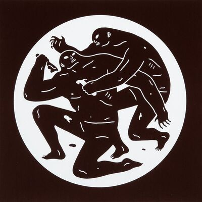 Cleon Peterson, 'Destroying the Weak 1 & 2 (two works)', 2015