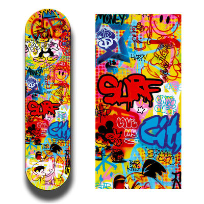 Speedy Graphito, 'SURF IN THE CITY', 2018