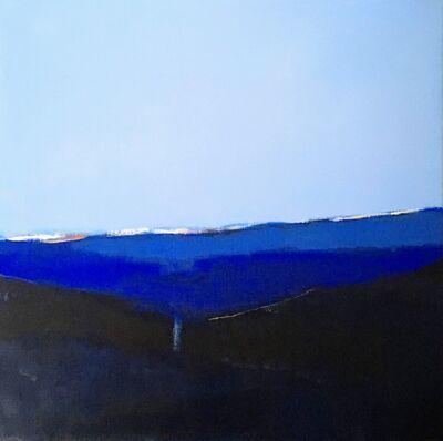 Ragnhild Slaaen, 'Blått lys', 2019