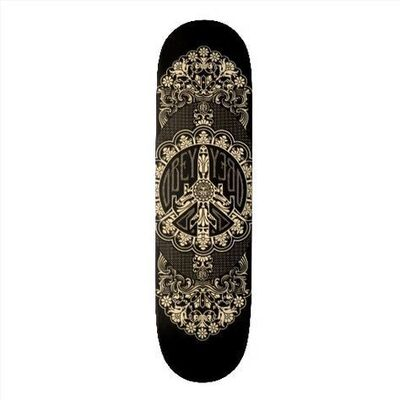 Shepard Fairey, 'SKATEBOARDS - OBEY Peace Plane Deck'