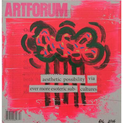 David Lloyd, 'Altered Artforum #9', 2016