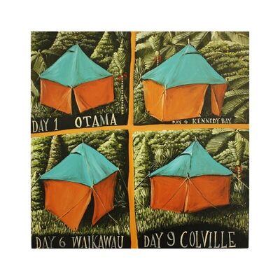 Mark Wooller, 'Coromandel Camping', 2020