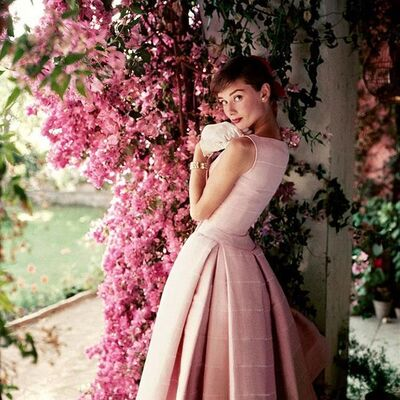Norman Parkinson, 'Audrey Hepburn wearing Givenchy, 1955', ca. 1955