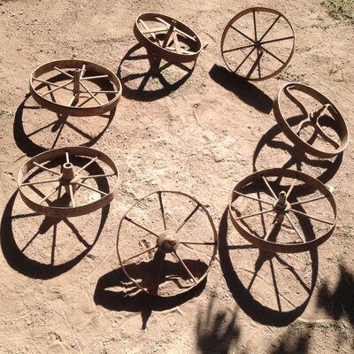 Juan Gugger, 'Wheels and Shadows Orbit ', 2014
