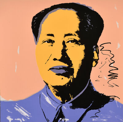 After Andy Warhol, 'Mao'