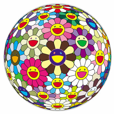 Takashi Murakami, 'Flower Ball 2', 2002