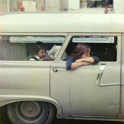 Mario Carnicelli, 'Girls in station wagon, Washington', 1967