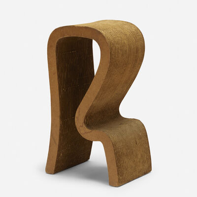 Frank Gehry, 'R-bar stool', 1972