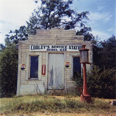 William Christenberry, 'Rebel Gasoline Station, Moundville, Alabama', 1964