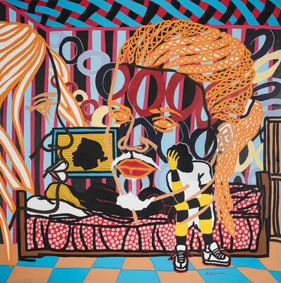 Boris Nzebo, 'Ampoule rouge', 2017